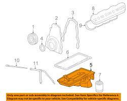 gm oem engine oil pan 12579273 image is loading gm oem engine oil pan 12579273