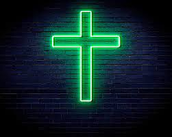 Cross Jesus Home Decoration Flex ...