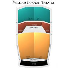 William Saroyan Theatre Fresno Seating Chart William Saroyan Theatre 2019 Seating Chart