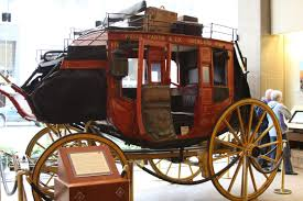 michigan exposures the wells fargo museum a restored stagecoach