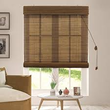 bamboo window blinds. Exellent Bamboo Chicology Bamboo Roll Up Blinds  Wood Window Blind Bamboo Privacy   Acorn Throughout O