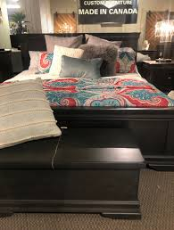 Vokes Solid Wood Bed Bayshore Made In Canada Solid Wood Bed Panel Bed Carved Beds