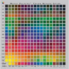 Acrylic Paint Mixing Chart Mixing Paintings Search Result At Paintingvalley Com