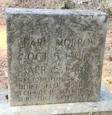 """Pearline """"Pearl"""" Stephens Morrow (1900-1946) - Find A Grave Memorial"""