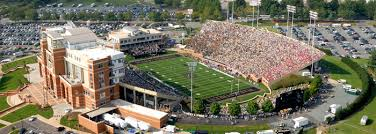 American Legion Memorial Stadium Charlotte Seating Chart Facility Info Seating Charts Wake Forest Deacon Club