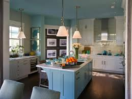 Of Blue Kitchens Pick Your Favorite Kitchen Hgtv Smart Home 2017 Explore
