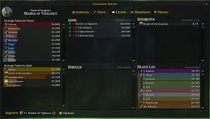 Details Damage Meter Class Addons World Of Warcraft