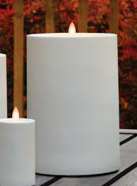 Outdoor Flameless Candles Adorable Large Candle Impressions Mirage Outdoor Pillar 32 X 32 Inch Warm