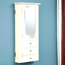 Wall Mount Jewelry Cabinet Mounted Lighted  And Furniture T M L F 436