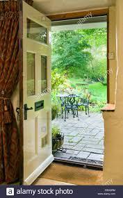 opening front door. Open Front Door. An Door With Patio And Table Chairs Seen Outside . Opening 8