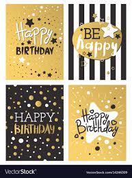 Golden Invitation Card Design Beautiful Birthday Invitation Card Design Gold And