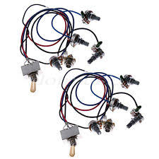 335 guitar wiring harness 2 set les paul guitar wiring harness prewired 2 volumes 2 tones 4