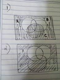 Venn Diagram A U B Which One Is The Venn Diagram For Aub Uc Brainly In