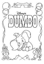 Dumbo And Others Coloring Book