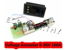 eco worthy dc dual digital led voltmeter ammeter amp power meter 0 eco worthy dc dual digital led voltmeter ammeter amp power meter 0 90v 100a