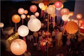 Paper Lanterns Wedding