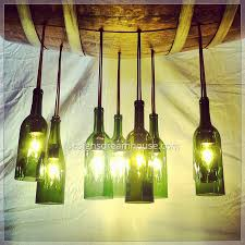 Wine Bottle Lamp Diy Wine Bottle Chandelier Perfect For The Wine Connoisseur Collect