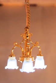 dollhouse chandelier battery operated to enlarge