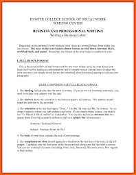 Ideas Collection Business Letters Written In Block Format Should