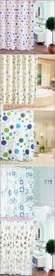 fashion bathroom waterproof peva shower curtain mouldproof bath decor curtains multi style