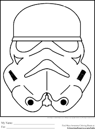 Star Wars Coloring Pages Free Fresh Storm Trooper Printable Home Of