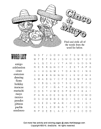 9 cinco de mayo printable activities each containing the following black and white pdf downloadable pdf diy craft instructions and colour template. Cinco De Mayo Coloring Pages Printable Coloring Home