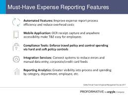 Expense Report Automation And The Roi Of T E