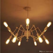 modern brass mid century sputnik atomic chandelier starburst light fixture loft american style spider chandelier 8 12 lights vintage spider chandelier