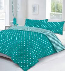 image of king size duvet cover teal