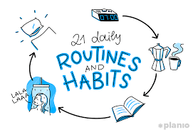 Exercise Daily Routine Chart The 21 Daily Routines And Habits Of Highly Productive