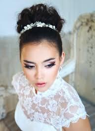 Hochsteckfrisur Mit Diadem Als Hochzeits Haarschmuck Hochzeiten