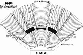 Gorge Amphitheater Seating Chart Umb Bank Pavilion Seating Chart