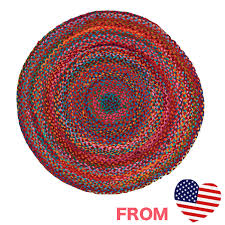 cute rugs round round round rug cotton cotton colorful green red red imports green carpet bathroom