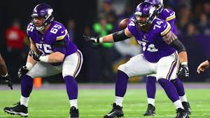 Vikings Depth Chart Offensive Projection For 2018