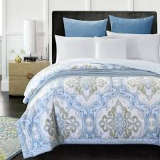 Aliexpress.com : Buy classical royal style light blue summer quilt ... & Aliexpress.com : Buy classical royal style light blue summer quilt  150*200cm 200*230cm size quilted Quilt thin bedding Blanket/ Plaids from  Reliable bedding ... Adamdwight.com