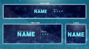 Youtube Template Psd Free Youtube Banner Template Photoshop Banner Logo Twitter Psd 2016