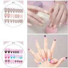 colorful false nail tips super thin false nail sticker abs nail art tips full nail tips fake nail newchic