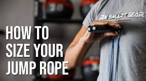 How To Size Your Jump Rope Rx Smart Gear