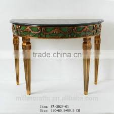 black half moon console table. Interesting Table Living Room Black Marble Top Gold Leaf Half Moon Console Tables  And Black Half Moon Console Table G