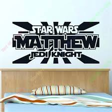 personalized wall decals canada personalized wall stickers star wars decals for walls personalised star wars wall