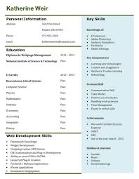 Resume Sample Example Of Top 3 Resume Templates In December 2014