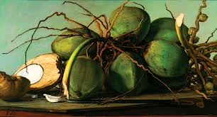 francisco oller puerto rican 1833 1917 still life with coconuts