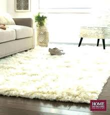 white fur rug small fluffy awesome bedroom carpet for design in faux whit