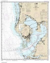 Noaa Chart 11425 11412 Tampa Bay And St Joseph Sound Nautical Chart