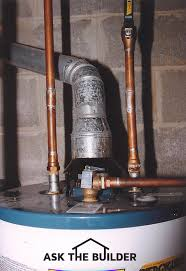 water heater venting