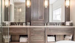 installing a vanity bathroom vanity