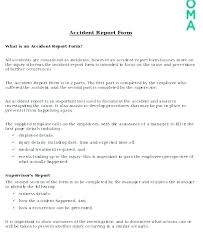 Employee Incident Report Form Template Forms Templates
