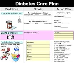 Diabetes Meal Planning Pdf Diabetic Meal Plan Chart New 9 Diabetes Action Plan Examples