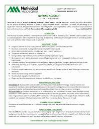 Fresh Job Description Cna Inspirational Certified Nursing Assistant
