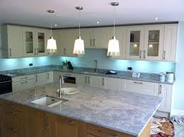 light blue tile backsplash best kitchen ...